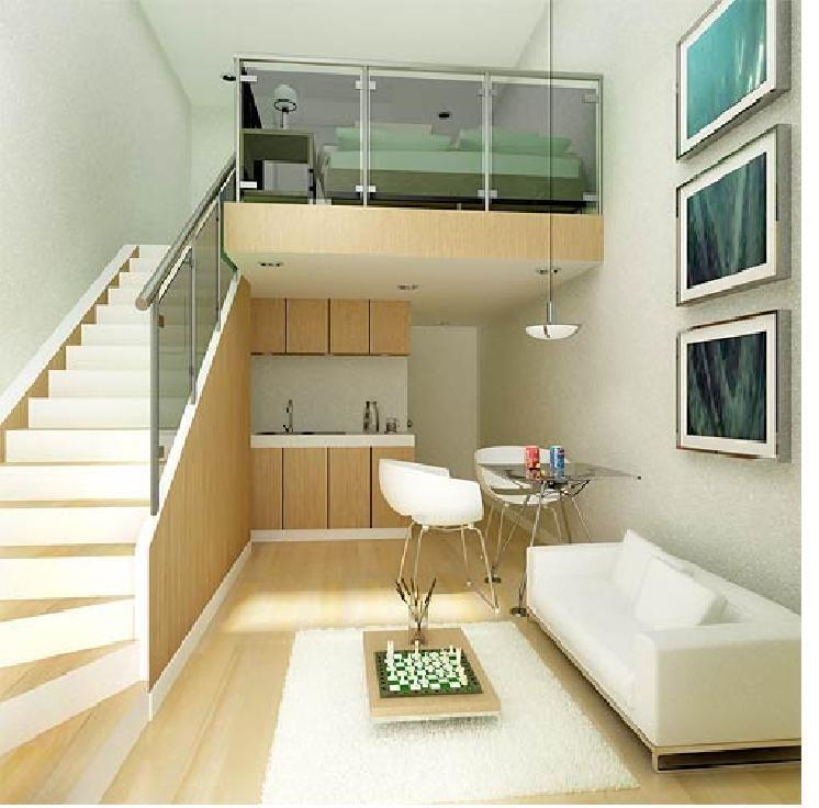 Small Loft Design Ideas: Loft Bedroom Condo, The Solution For Small Area: Loft
