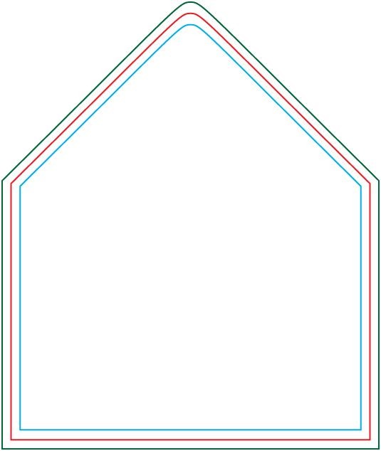 A7 Envelope Liner Template