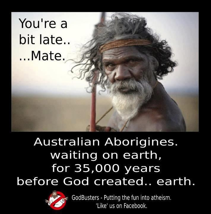Australian Aborigines On Earth Long Before God Created -5967