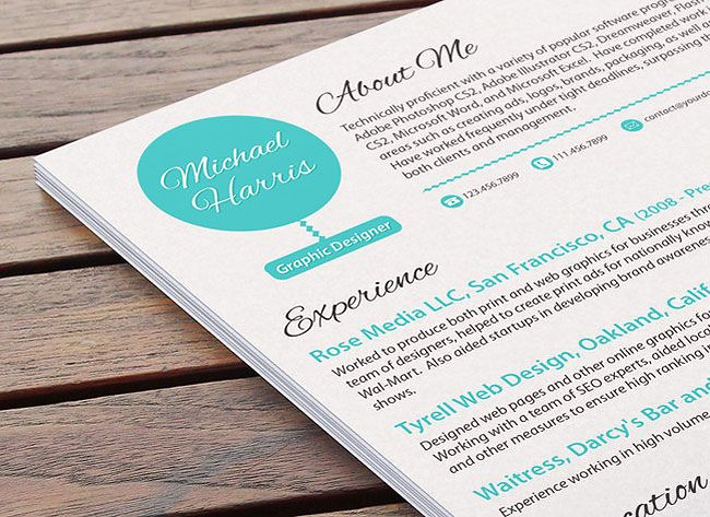 1000+ images about Classy Resumes on Pinterest | Graphic design ...