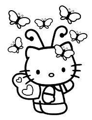 Hello Kitty Darmowe Kolorowanki Kolorowanka Kolorowanki