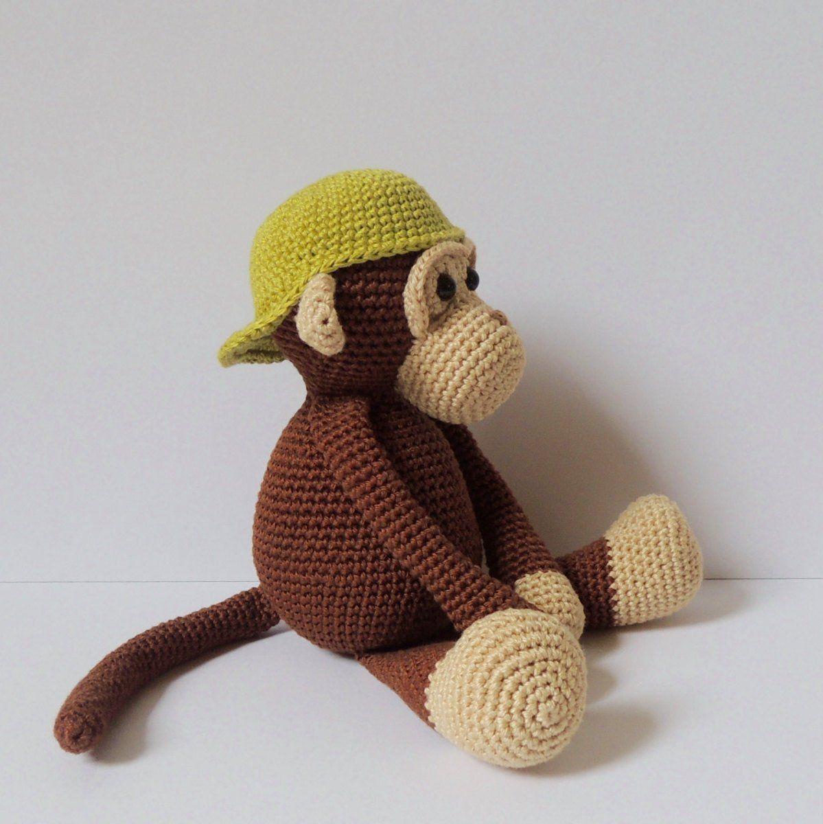 Monkey de Luffy amigurumi Pattern pdf | Etsy | 1200x1199