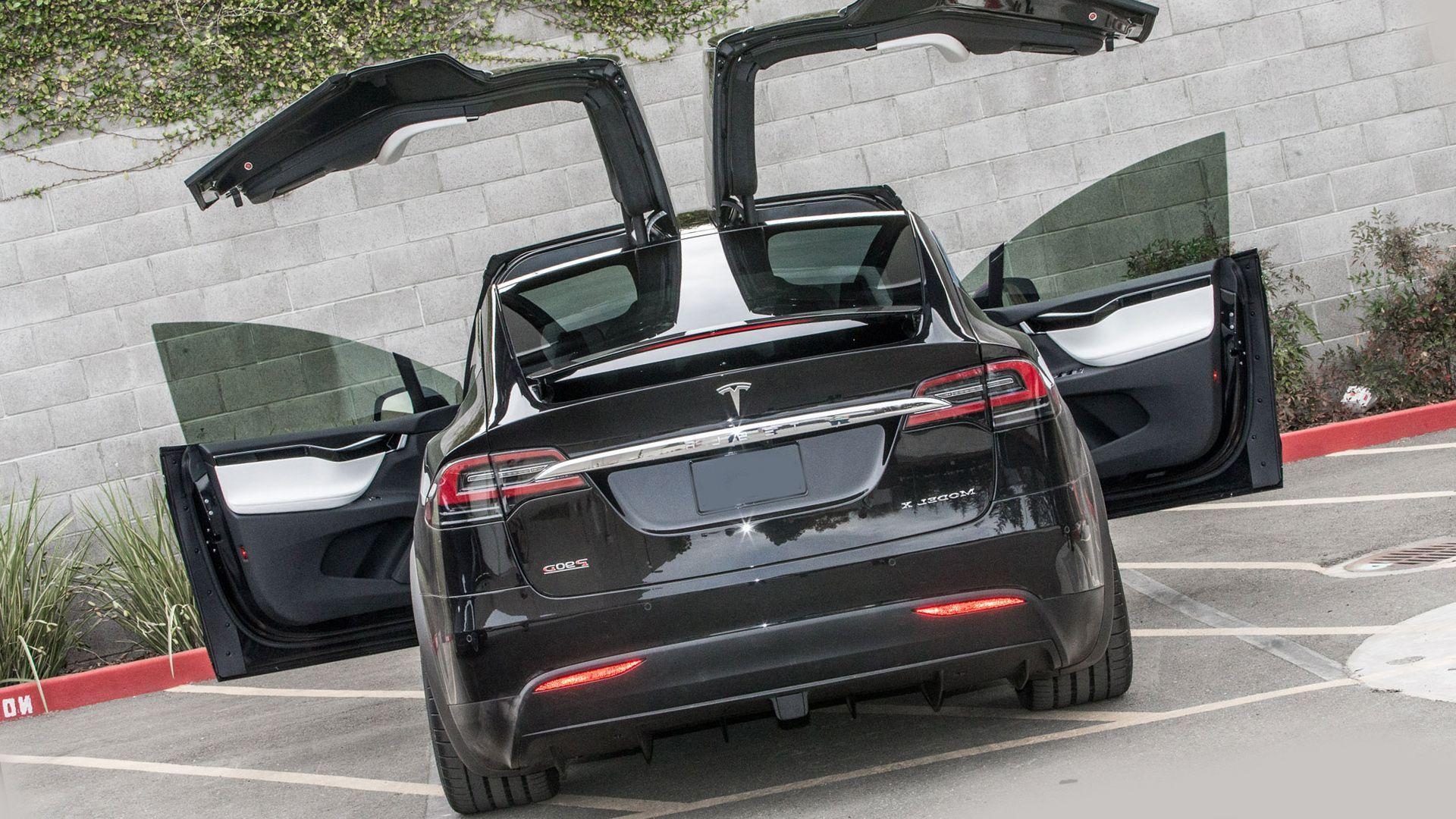 New 2018 Tesla Model X Exterior Redesign Tesla Model X Tesla Model Tesla