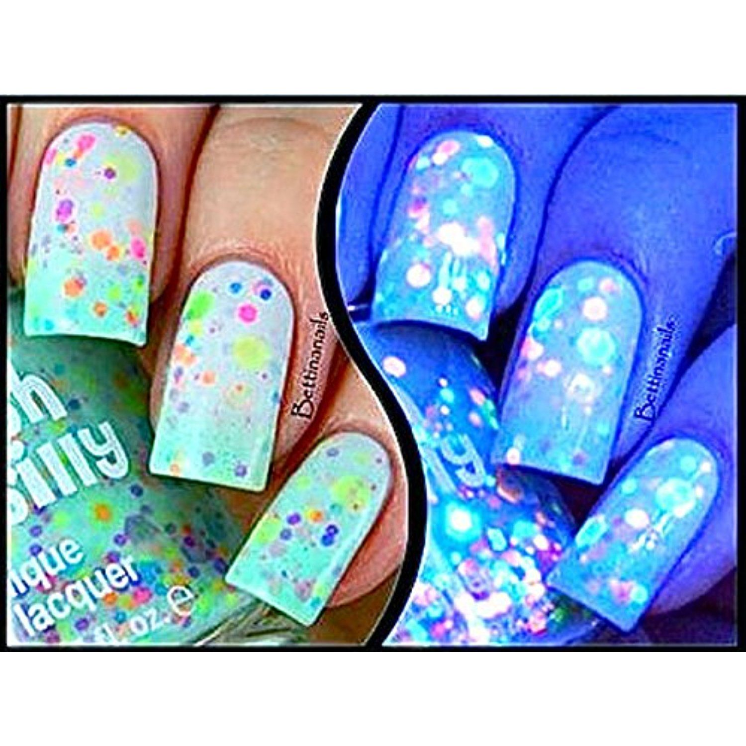 Minty Madness-Color Changing UV Blacklight Thermal Nail Polish ...