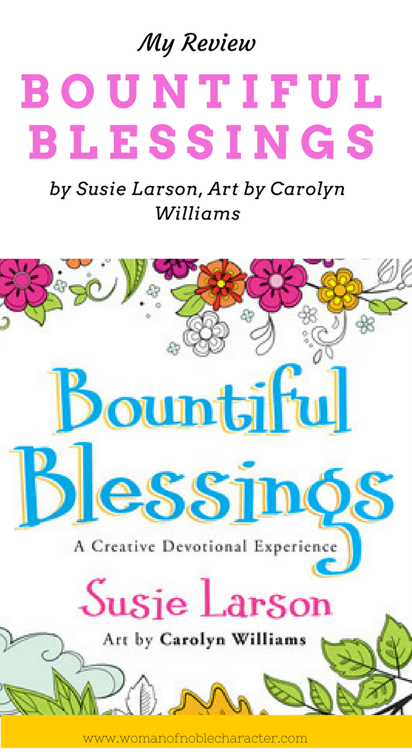 Bountiful Blessings by Susie Larson a review of devotional ...