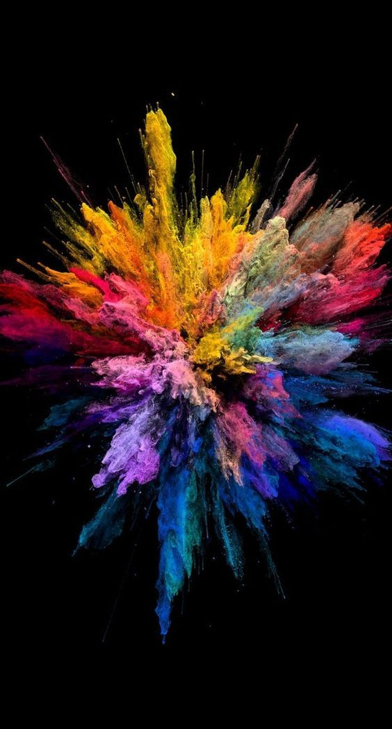 Color explosion  Backgrounds – Cool Backgrounds