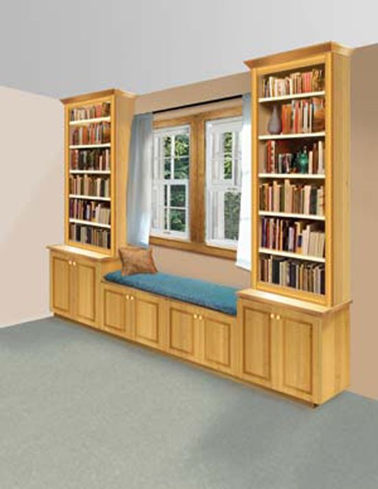 Build A Book Nook And Window Seat Build A Book Nook And Window Seat
