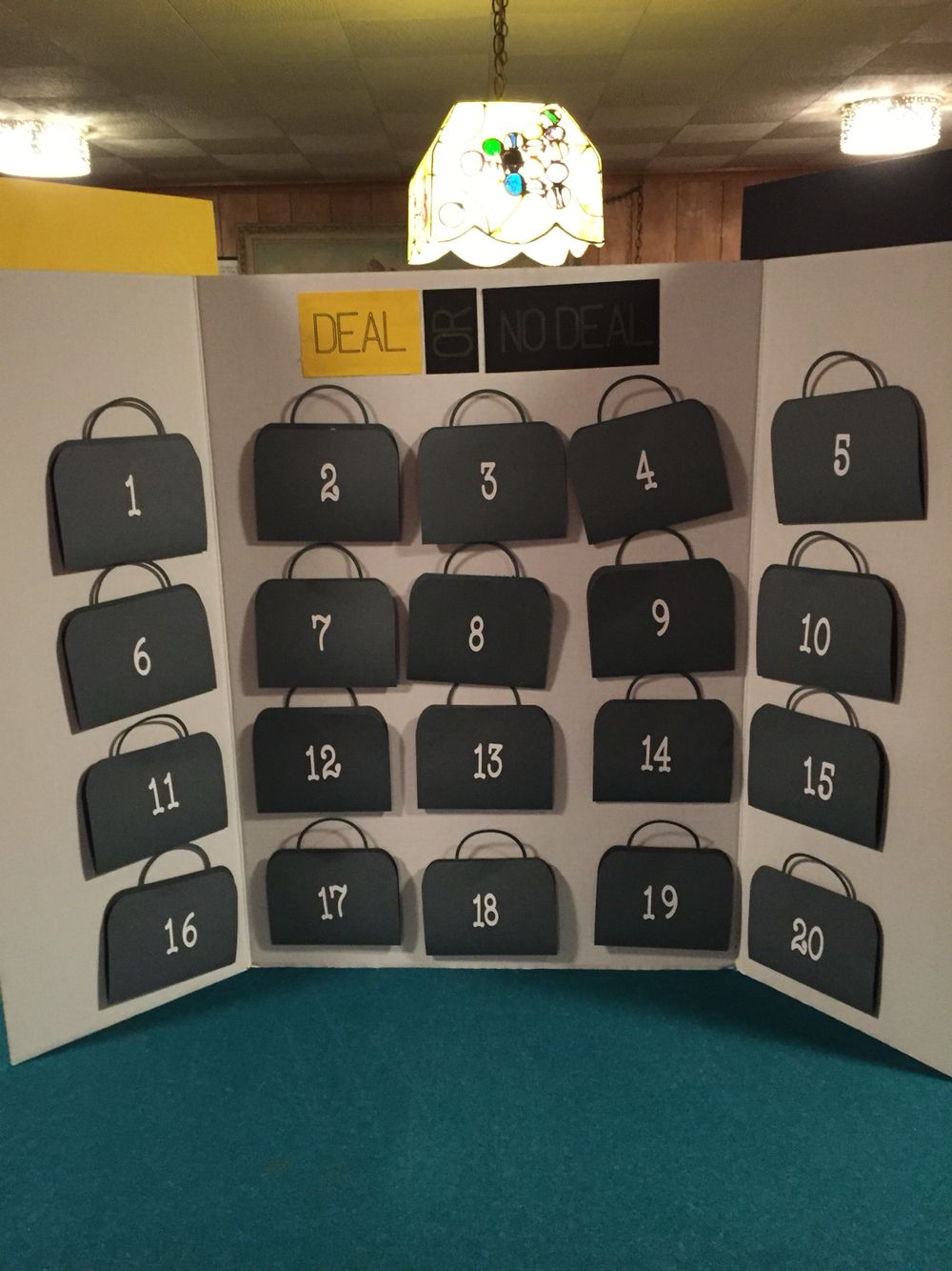 Deal or no deal made with cricut residents pinterest Homemade games for adults