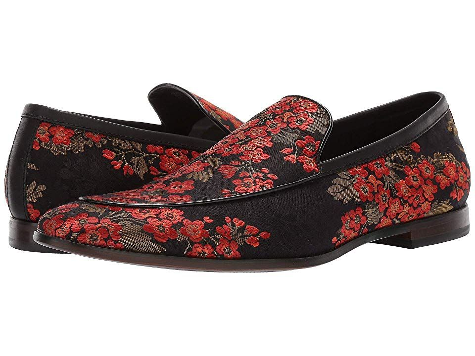9792c0dee04 Steve Madden Duplex Men's Slip on Shoes Black/Red | Products in 2019 ...