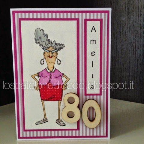 Lo scatolone di Dodò: E se una 80enne molto arzilla compie gli anni?
