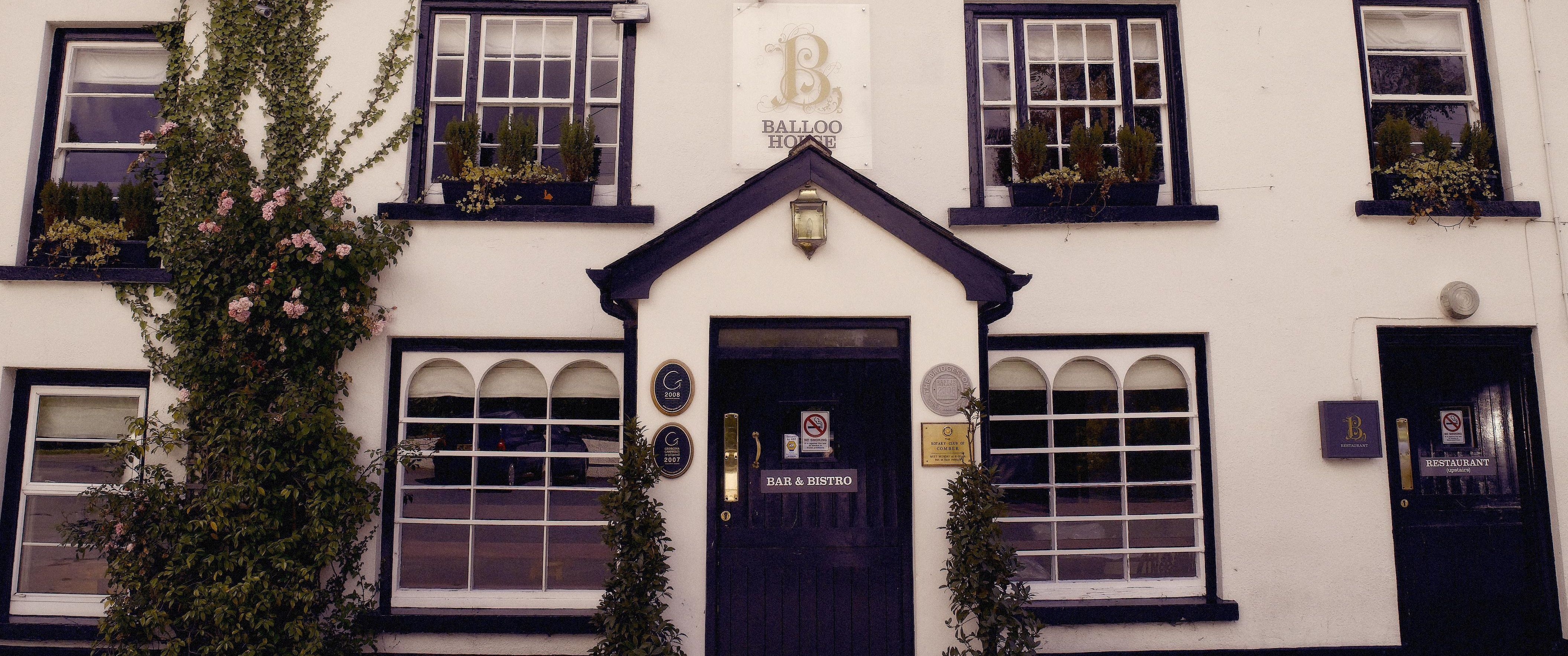 Balloo House, Killinchy - Readers' Restaurant of the Year for Northern Ireland