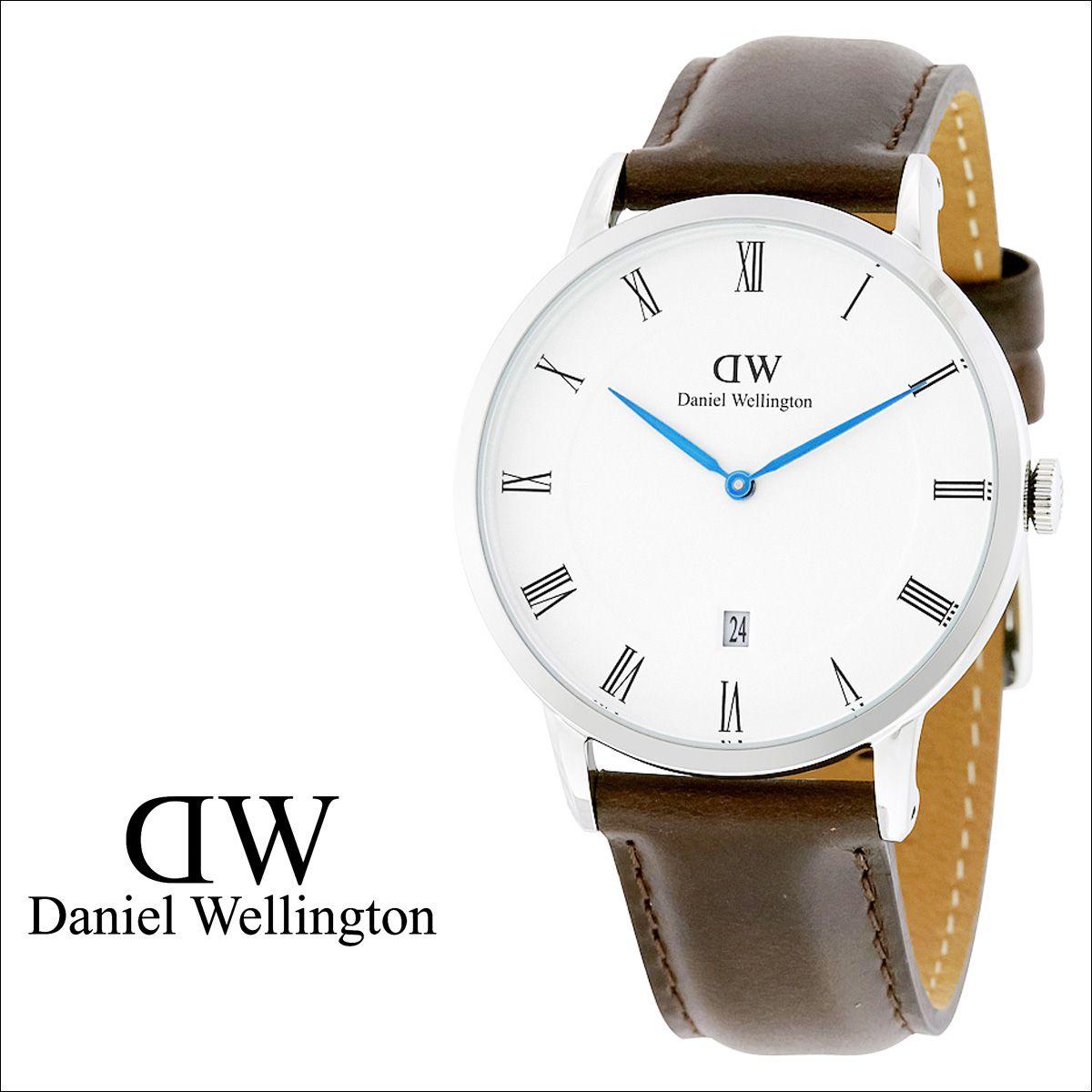 d2938f2cd7648 Daniel Wellington Daniel Wellington men s watch watches watch 38 mm 1123 DW DAPPER  BRISTOL silver  10 28…