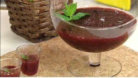 Sagu de Suco de Uva