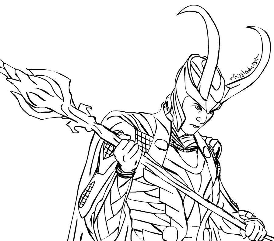Loki Request By Gigglewhatsit Geeks Desenhos Para Colorir