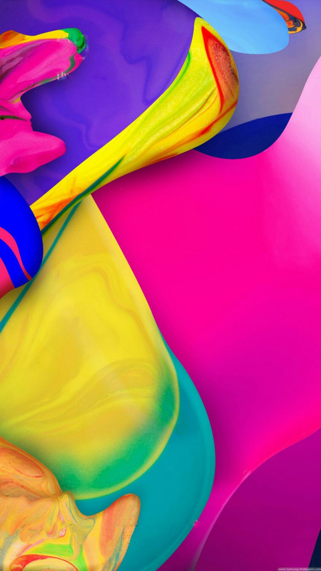 Color Paint Lock Screen 1080x1920 Samsung Galaxy S4 Wallpaper HD Wallpapers