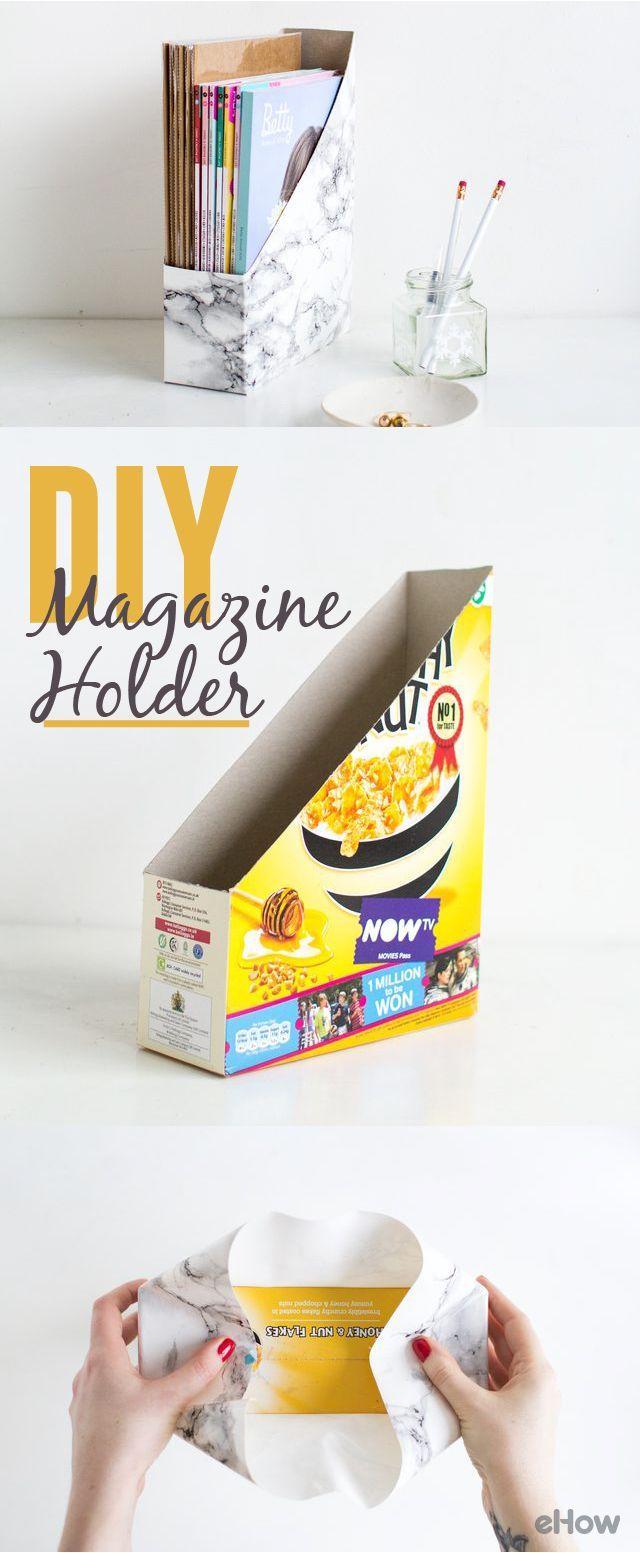 How to Make a Desk Magazine Holder   eHow.com