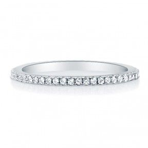 Sterling Silver Cubic Zirconia CZ Eternity Band Ring