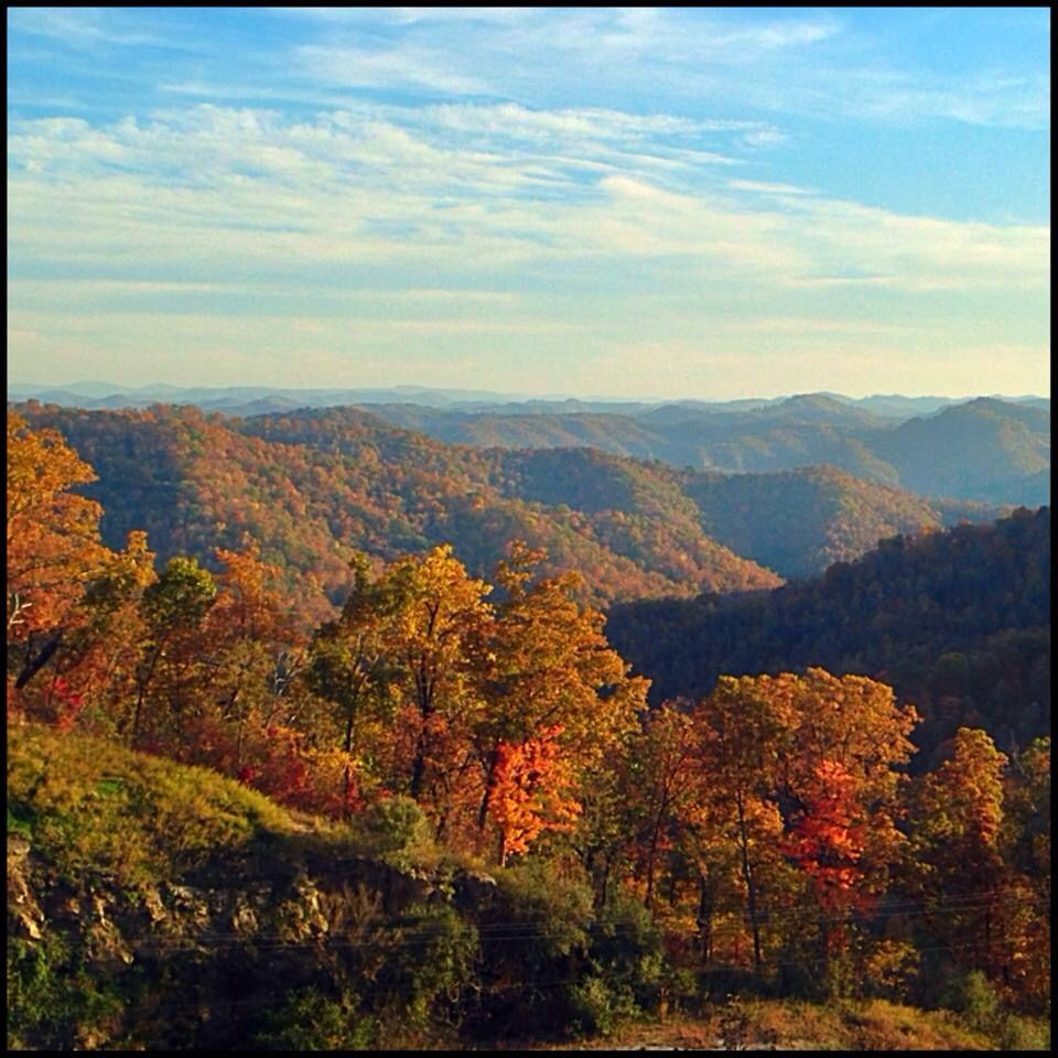 Hard to beat this view of the Pike County mountains! Tanner