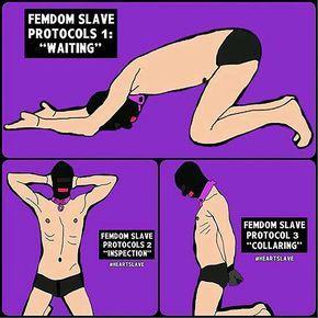 Bdsm slave protocol