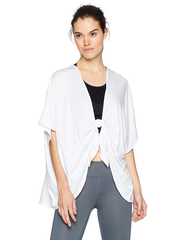 Women's Cover Up - White - CW186SSMQL3 - Sports & Fitness Clothing, Women, Shirts  #Shirts #Sports #...