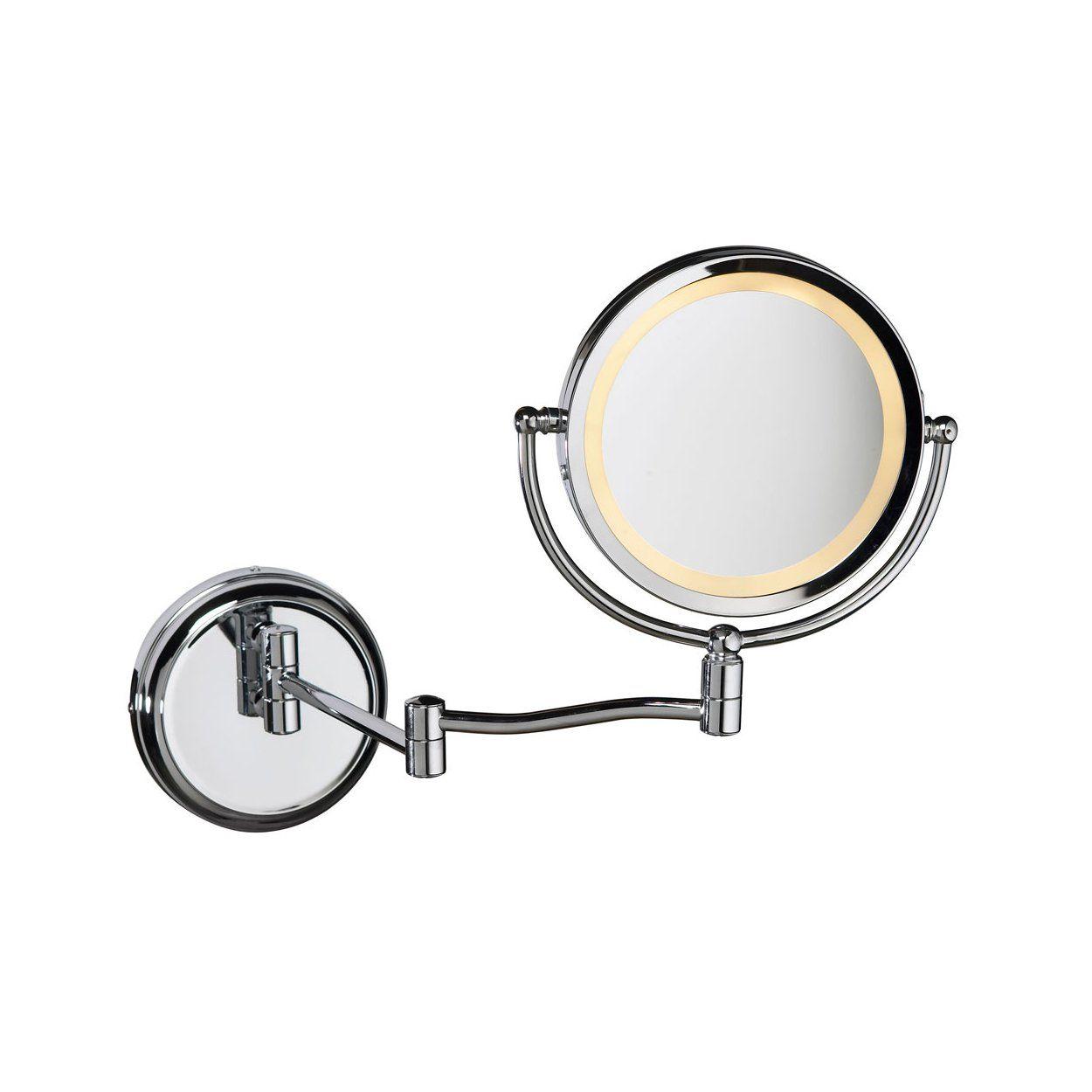 Dainolite Lighting Magmir 1w Magnified Make Up Mirror Lowe S Canada Main Bathroom