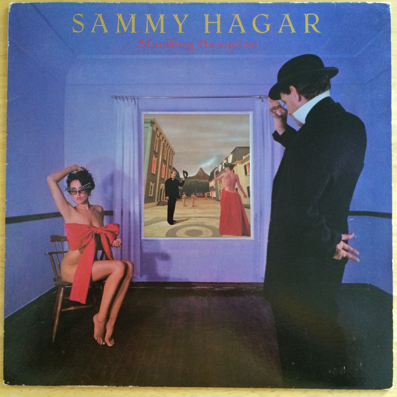 Sammy Hagar Standing Hampton Sammy Hagar Album Covers Rock Album Covers