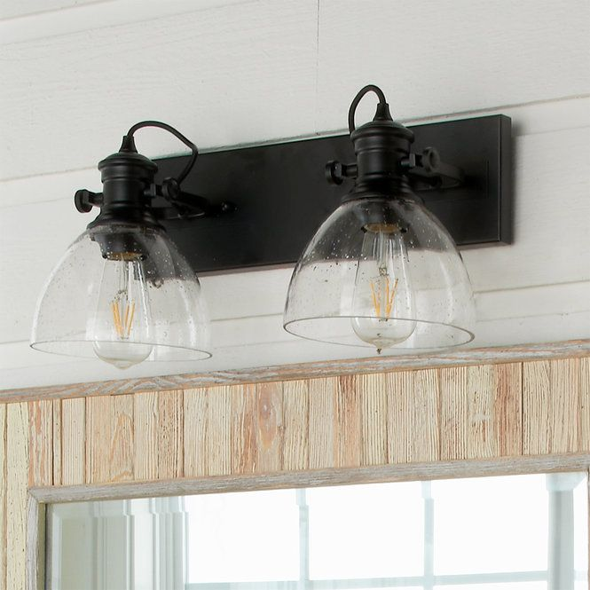 Outstanding Transitional Dining Room Suitable For Any Home: Gwynn Isle Dome Vanity Light - 2 Light In 2020