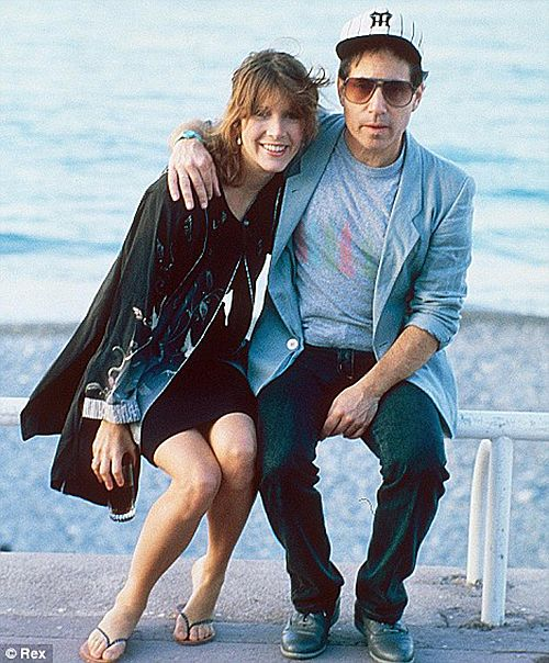 carrie fisher paul simon