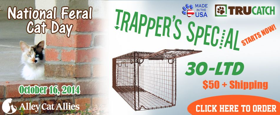 My favorite type of trap to do TNR. It was created for the