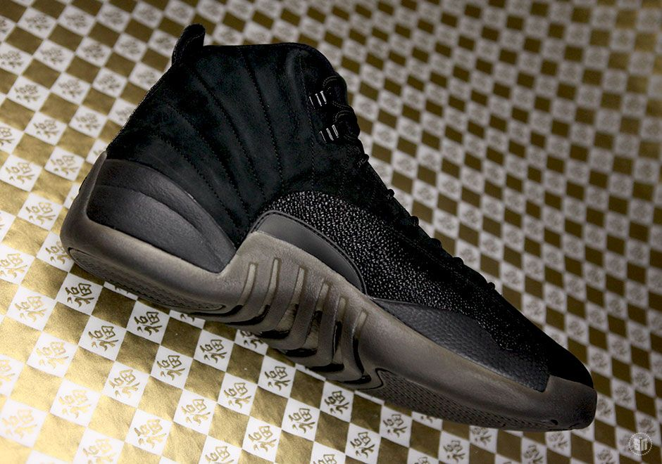 Release Date Announced For Drake's Air Jordan 12 Ovo (Black Stingray) -  Sneaker Freaker
