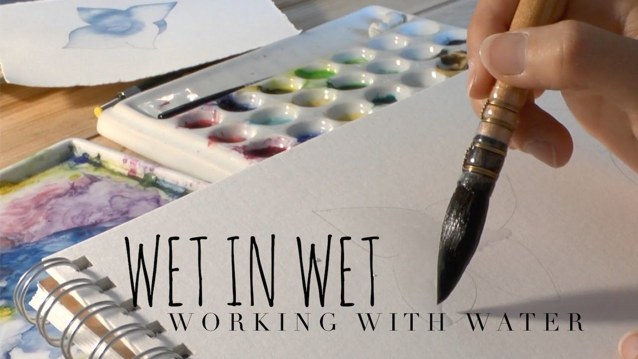 Controlling The Water How To Use Watercolor With Scarlett Damen