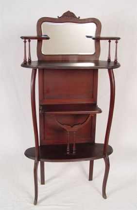 Antique Furniture Edwardian (1901-1910) Rational Antique Edwardian Mahogany Piano/dressing Table Stool Special Buy