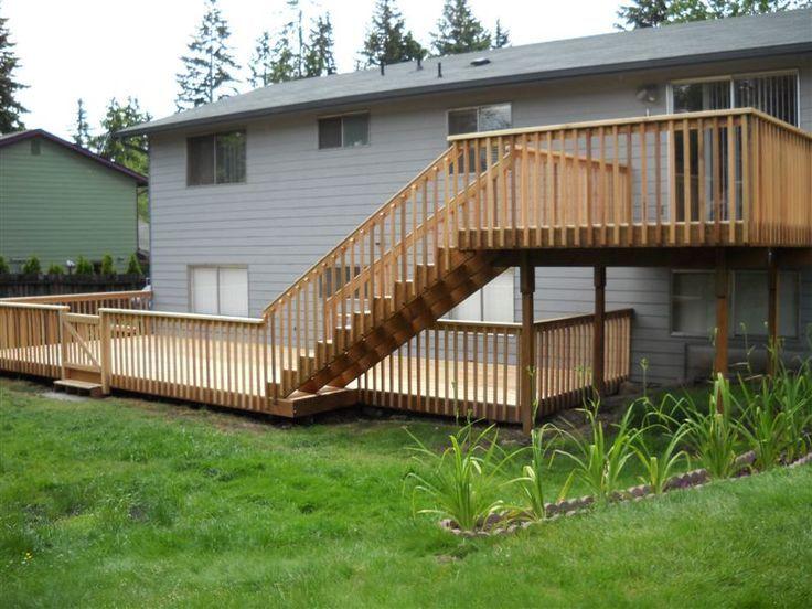 Back Deck Ideas Building A Deck Decks Backyard Deck Design