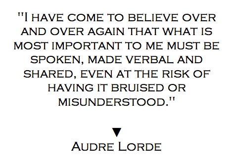 Your Silence Will Not Protect You Audre Lorde Quotes Audre