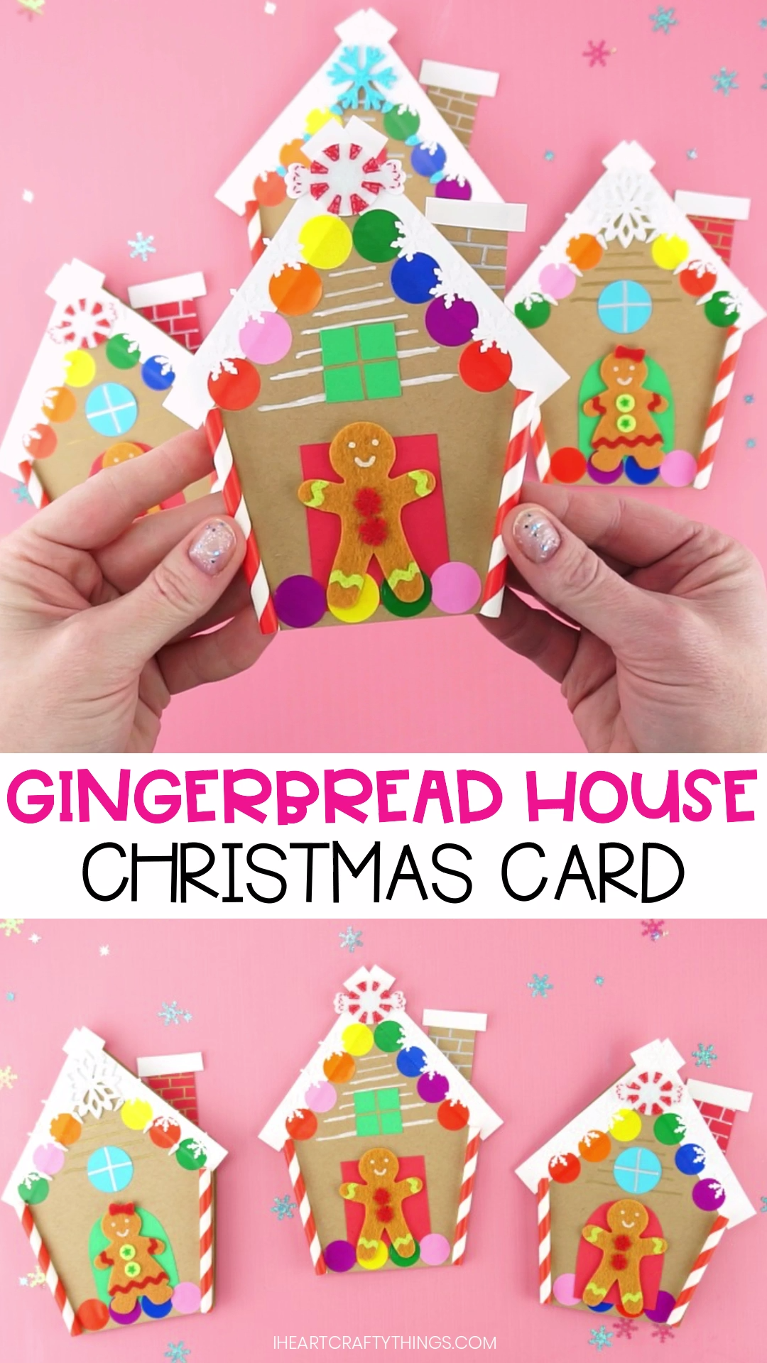 Photo of Gingerbread House Christmas Card