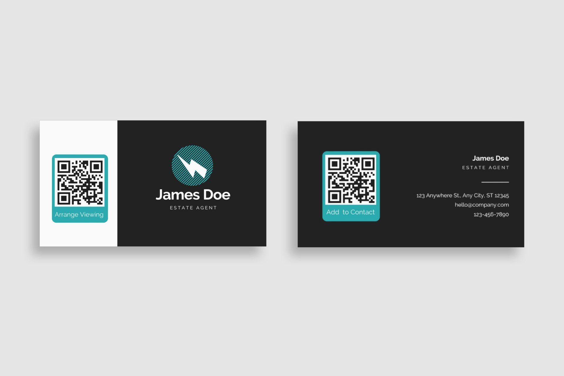 Qr Business Carddynamic Qr A Smart Chip Business Qr Code Etsy Digital Business Card Qr Code Business Card Create Business Cards
