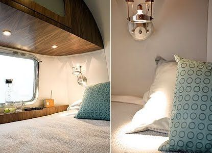 And what's life like inside an Airstream trailer? Pretty much what you want it to be.