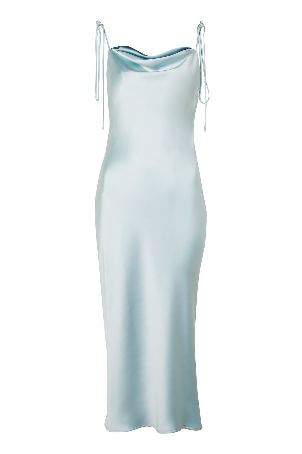 Cowl Tie Satin Slip Dress - New In Fashion - New In - Topshop Europe ...