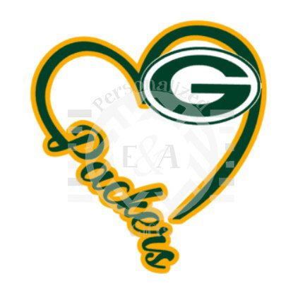 I Heart Packers Decal, Green Bay, Wisconsin, football, Cheesehead ...