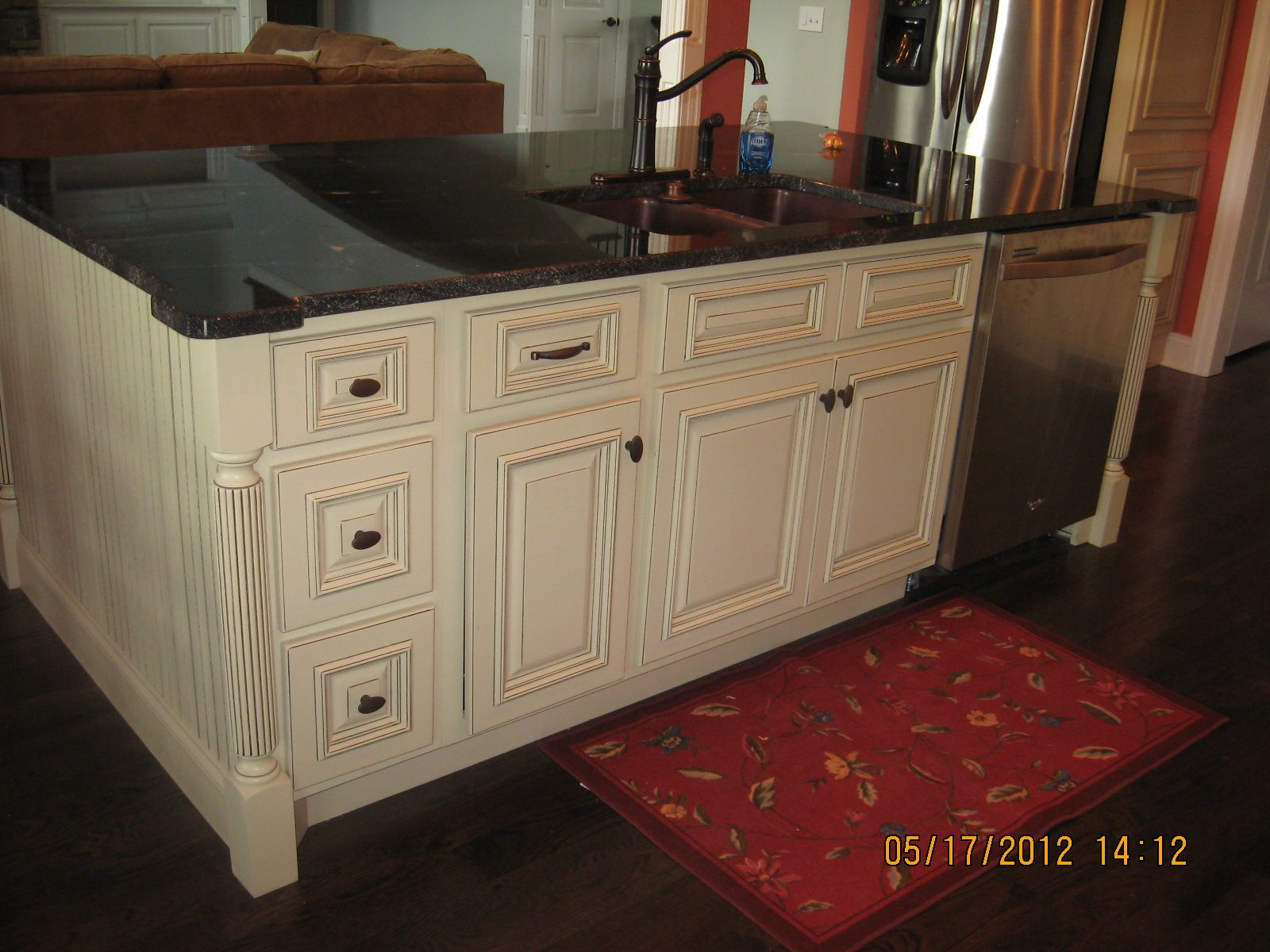 Kitchen island with sink and dishwasher Home Designs