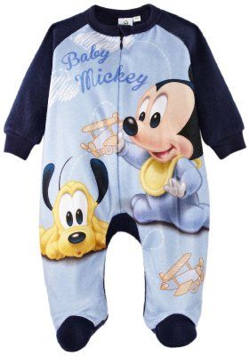 Disney Mickey Mouse Baby Boys Onesie Sleepsuit Amazon.co.uk Clothing ... 7882d4521a2a