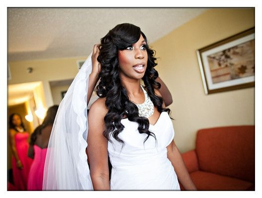 Charming Bridal Hairstyle For Black Women By Evawigs.com