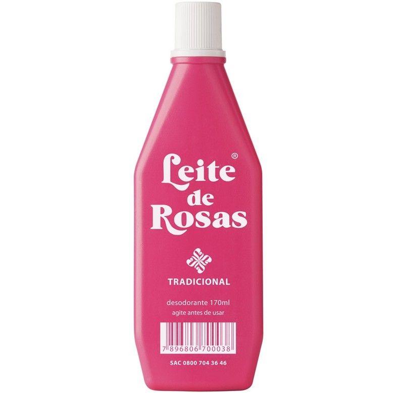 Leite de Rosas Tradicional - 170ml - Amazonia Brasil