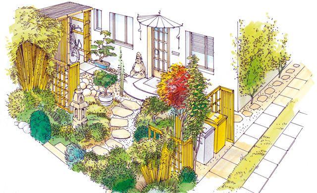 vorgarten garten anlegen sch ne vorg rten und vorg rten. Black Bedroom Furniture Sets. Home Design Ideas