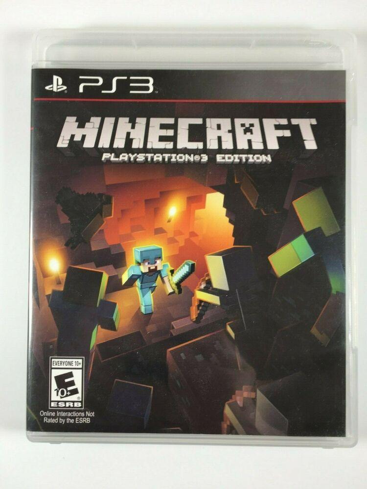 Minecraft Playstation 3 Ps3 Edition Minecraft Playing Game Playstation Sony Playstation Creative Games