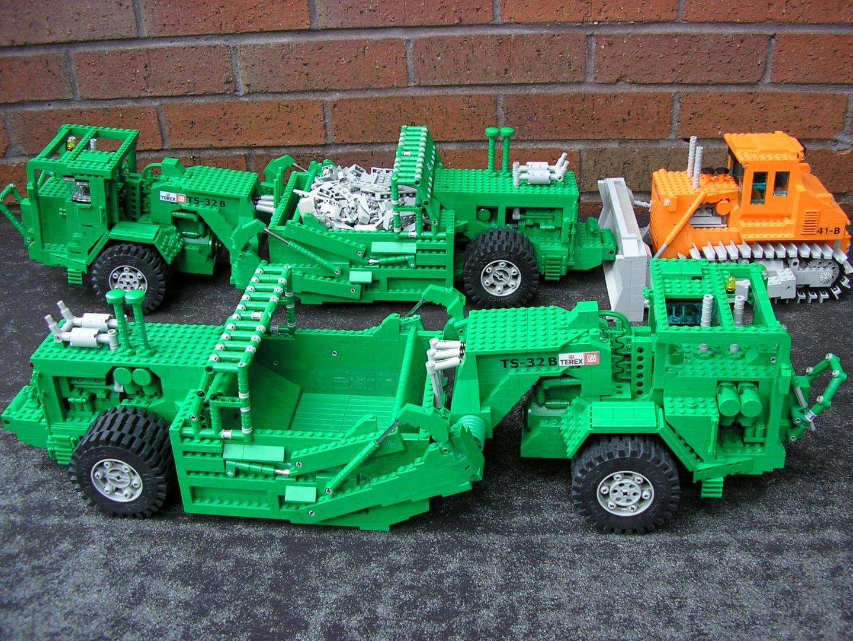 Lego Grader Lego cars, Lego