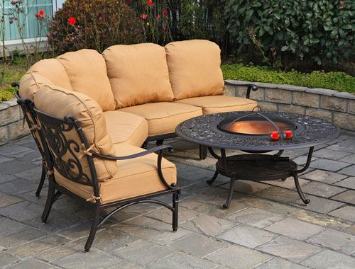 Beau Fireplace U0026 Patio Trends, Since Offers The Best Brand Name Cast Aluminum Outdoor  Patio Furniture To Orange County.