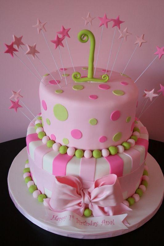 Littlegirlspinkbirthdaycakes Birthday Kimmyerin You