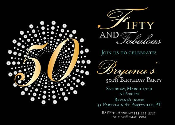 fifty and fabulous birthday invitations th birthday party, 50 birthday party invitations, 50 birthday party invitations ideas, 50 birthday party invitations wording