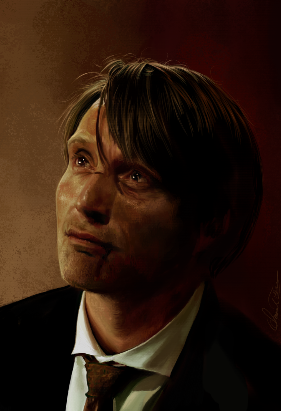 Hannibal Lecter by AmandaTolleson.deviantart.com on @deviantART